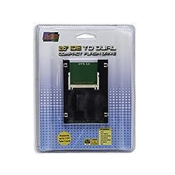 Syba Dual Compact Flash to 44 Pin IDE 2.5\