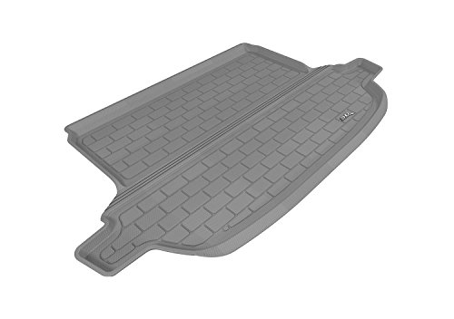 3D MAXpider Cargo Custom Fit All-Weather Floor Mat for Select Subaru Forester Models – Kagu Rubber (Gray)