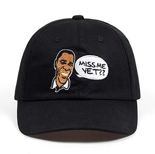 LZWLTT 100% Cotton U.S. President Barack Obama Dad Hat Embroidery Miss Me Yet Baseball Cap Obama Caps Hip Hop Bone Unisex