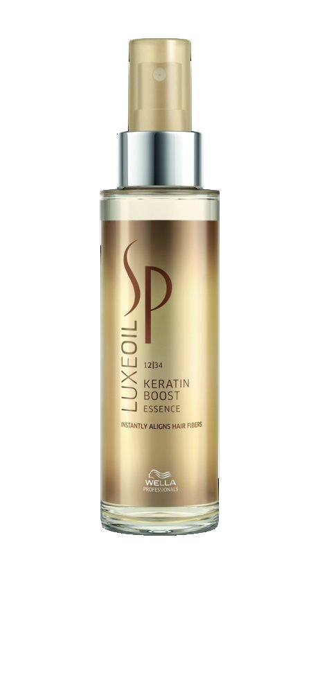 Wella SP System Professional Luxeoil Keratin Boost Essence Haaroil, 1er Pack, (1x 100 ml) 2952