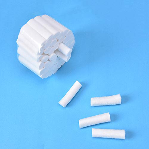 1000Pcs Dental Cotton Rolls, Disposable Non-Sterile Saliva Absorber Medical Cotton Consumable Tooth Fillings by Annhua