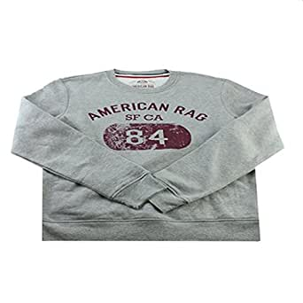 American Rag New Pewter 84 Pullover Sweatshirt Grey Small