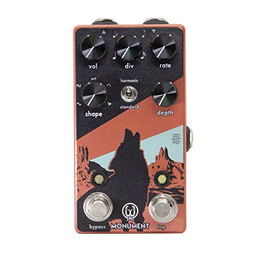 Walrus Audio Monument V2 Harmonic Tap Tremolo Guitar Effects Pedal ()