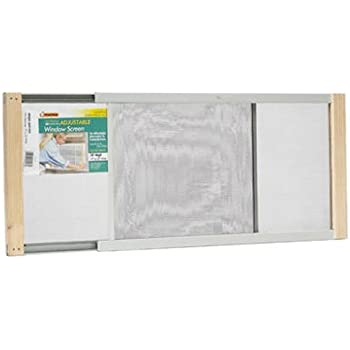 Amazing Frost King WB Marvin AWS1033 Adjustable Window Screen, 10in High X Fits  19 33in
