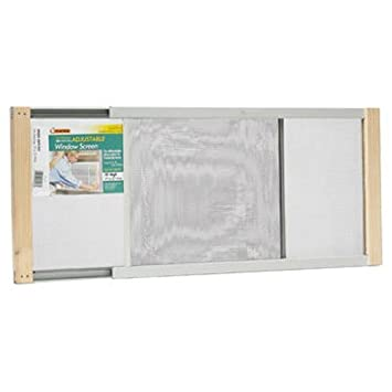 Frost King Available WB Marvin AWS1025 Adjustable Window Screen, 10in High x Fits 15-25in Wide, 10' 15-25' 10 15-25
