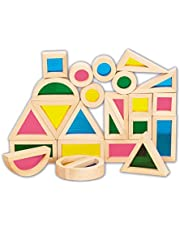 Save on TickiT 73275 Rainbow Block Set, 24 Pieces, Rainbow and more