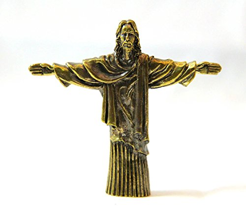 Element Earth Costume (Bronze Jesus Christ The Redeemer Statue Sculpture Figure RELIGIOUS DECOR)