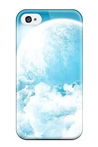 Cute High Quality Iphone 4/4s Bright Sky Case