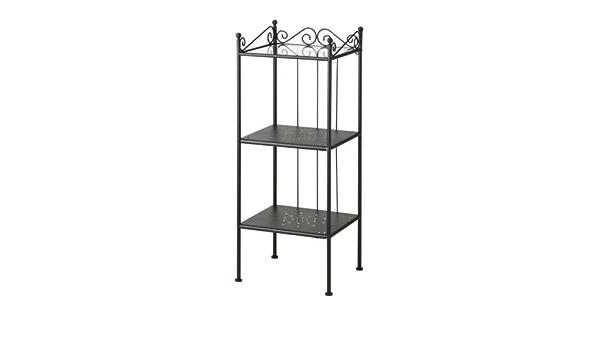 Ikea ronnskar – Estantería, Negro – 42 x 103 cm: Amazon.es: Hogar