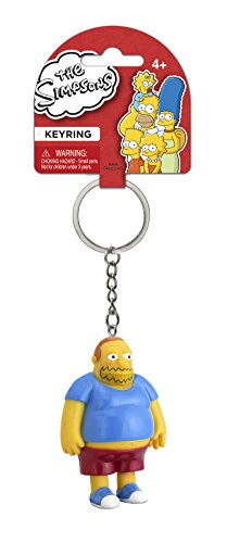 Fox The Simpsons Comic Book Guy 3D PVC Key Ring]()