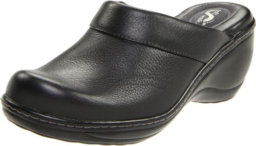 Softwalk Women's Murietta Clog,Black,9.0 M by SoftWalk