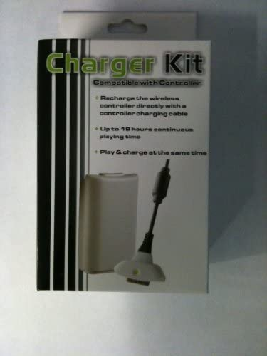 Ciscotech Xbox 360 Play Charge Kit Rechargeable Battery Pack & 2 year