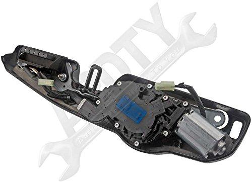 Replaces Hyundai 98700-2E001, 987002E001 APDTY 0111278 Rear Windshield Wiper Motor /& Bracket Assembly Fits 2006-2009 Hyundai Tucson
