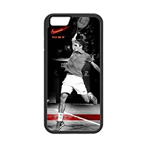 iPhone 6 Case, [Roger Federer] iPhone 6 (4.7) Case Custom Durable Case Cover for iPhone6 TPU case(Laser Technology)