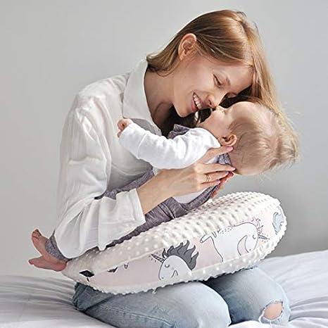 Sevira Kids Maman Poule Boho Arrows Coussin dallaitement coussin enfant en minky extra doux