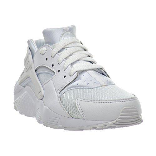 Nike Huarache Run (GS) Big Kid's Shoes White/Pure Platinum 654275-110 (5 M US)
