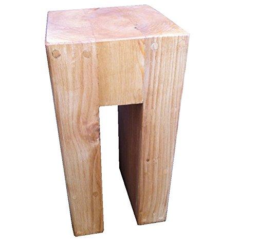 Pino n en forma de pie de lámpara mesa @ 50 cm de alto x 30 cm SQ ...
