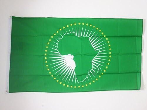 AZ FLAG Bandera de la UNIÓN Africana 90x60cm - Bandera Africa 60 x ...
