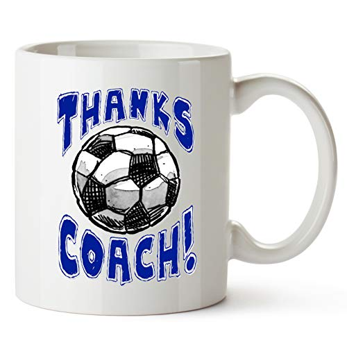 MUG Soccer -Thanks SOCCER Coach! Sports GIFT MUG Awesome team sports gift - your COACHES will love em! Play Strong Thanks Coach! #AllProfitsToHelpKids