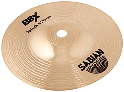 - Sabian 40605 X 6-Inch B8X Splash Cymbal