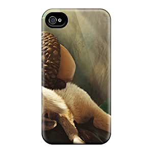 Ifans Case Cover For Iphone 4/4s - Retailer Packaging Scrat In Ice Age 3 Protective Case