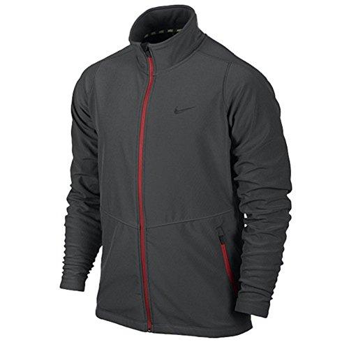 Nike Mens Max Soft-Shell Jacket Medium Ash/Dark Ash/Dark Ash 2XL
