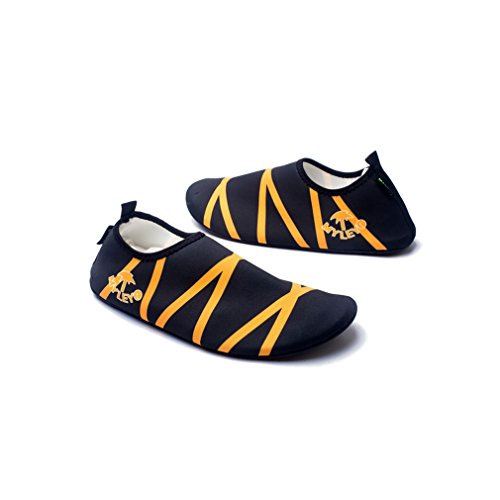 Secret Paradise par sandalias zapatos deportes natación agua esquí Barefoot pasta piel suave buceo zapatos zapatos de vadeo naranja