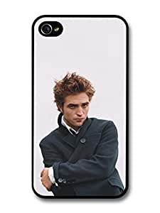 iphone covers Robert Pattinson Posing With Coat case for Iphone 5 5s