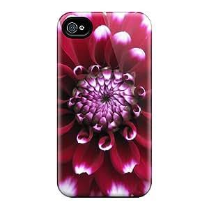 Excellent Iphone 4/4s Case Tpu Cover Back Skin Protector The Splendiferous Dahlia