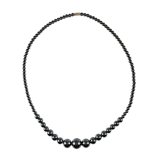 [Hematite Necklace - 22 inches long - Spinnaker Collection] (Angel Costume Tumblr)