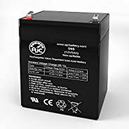 Razor Crazy Cart 12V 5Ah Electric Scooter Battery - This is an AJC Brand Replacement