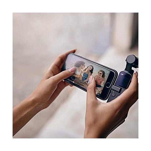 """DJI Osmo Pocket Prime Combo - Fotocamera Stabilizzata a Tre Assi con Kit Accessori e Care Refresh, Camera Integrata 12 MP 1/2.3"""" CMOS, Video in 4K, Collegabile a Smartphone, Android, iPhone - Black 6 spesavip"""