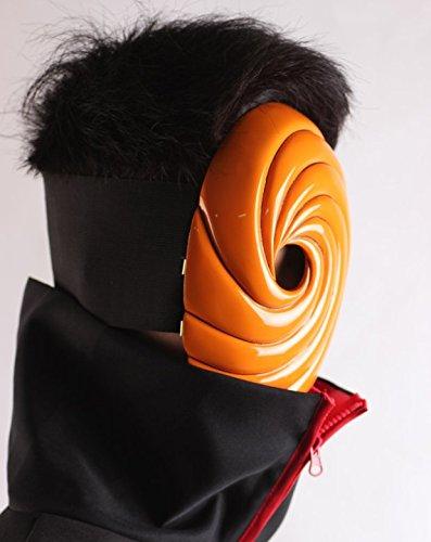 Gmasking Tobi Obito Naruto Uchiha Madara Cosplay máscara de 1: 1 Replica: Amazon.es: Hogar