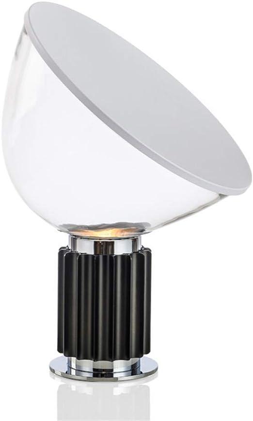 KIODS Lámpara de Noche Luces de Mesa LED Pantalla de Cristal de ...