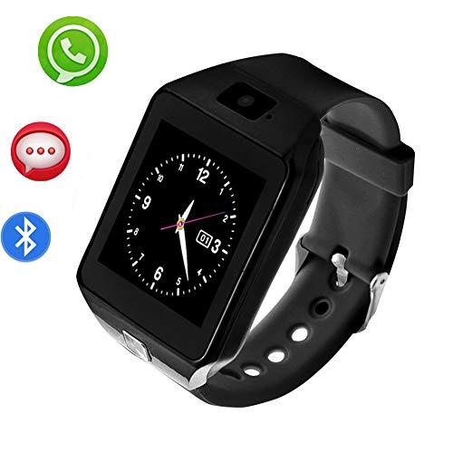 Smart Watch con Bluetooth, Reloj Inteligente con Pantalla táctil ...