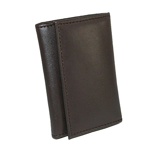 (Winn International Harness Cowhide Leather Snap Button Closure Key Case)