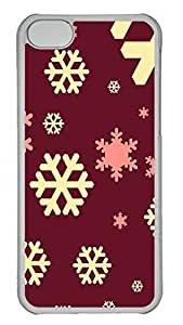 iPhone 5C Cases & Covers - Christmas Pattern Custom PC Soft Case Cover Protector for iPhone 5C - Transparent
