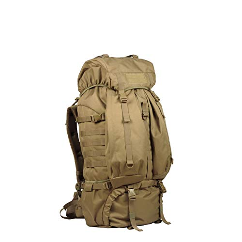 (Tongboshi Outdoor Hiking Mountain Shoulder Backpack, Men and Women Waterproof Travel Backpack Khaki, Gray, Black (Color : Khaki))