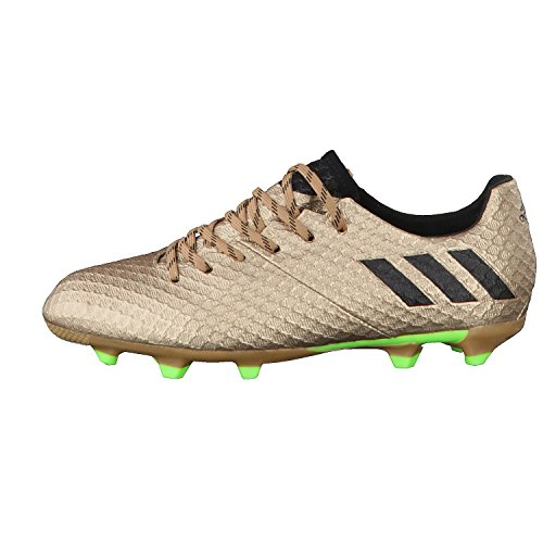 Adidas Messi 16.1 FG J, Scarpe per Allenamento Calcio Unisex – Bambini, Marrone (Bronzo/Cobmet/Negbas/Versol), 38 EU