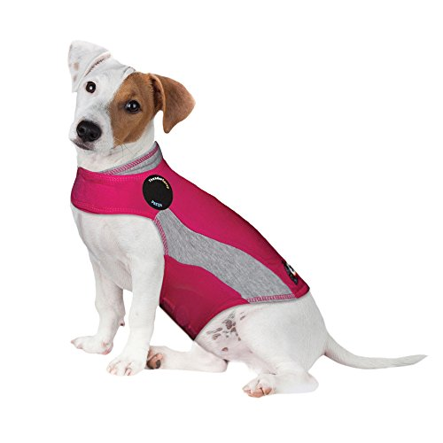 ThunderShirt Polo Dog Anxiety Jacket, Pink, Small