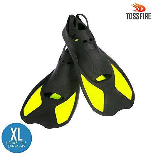 mens split fin snorkel set - 2