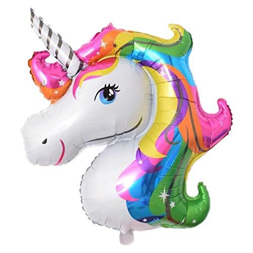 Chytaii. Unicornio Decoracion de Globos Fiesta Decoración ...