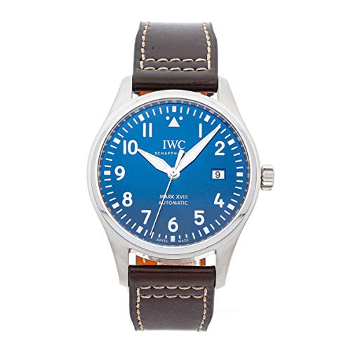 (IWC Pilot Mechanical (Automatic) Blue Dial Mens Watch IW3270-10 (Certified Pre-Owned))