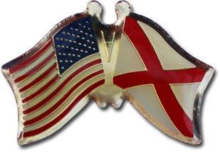 Alabama - State Friendship Pin (Lapel Pin Globe)