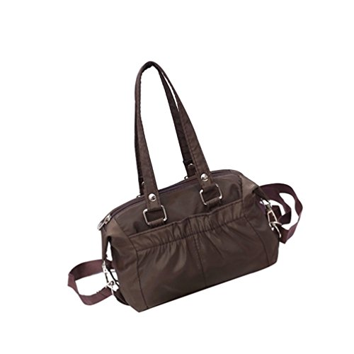 Bag Crossbody Capacity Solid Women Comfortable With Large Straps Lightweight Color Brown Yuanu Casual Removable Handbags Shoulder xXqYH1f1