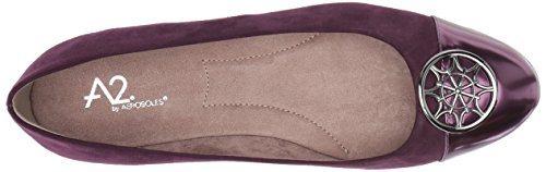Aerosoles Book Women's Ballet Trend by Purple Flat Combo A2 r7SxqrwnWP