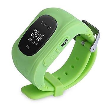 JINSHENG Smartwatch Q50-G para Android GPS Multi-Functional Podómetro Actividad Reposo Tracker Tracker