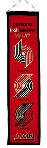 fan products of NBA Portland Trail Blazers Heritage Banner
