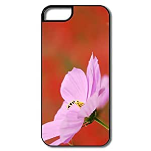 Designed Male Covers Particular Pink Cosmos Flower Macro