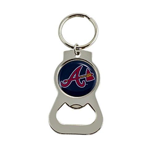 MLB Atlanta Braves Bottle Opener Key Ring